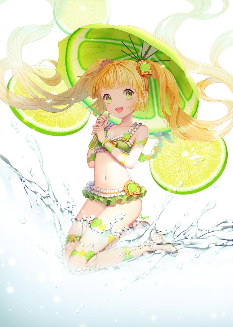 Девушки фрукты рисунки