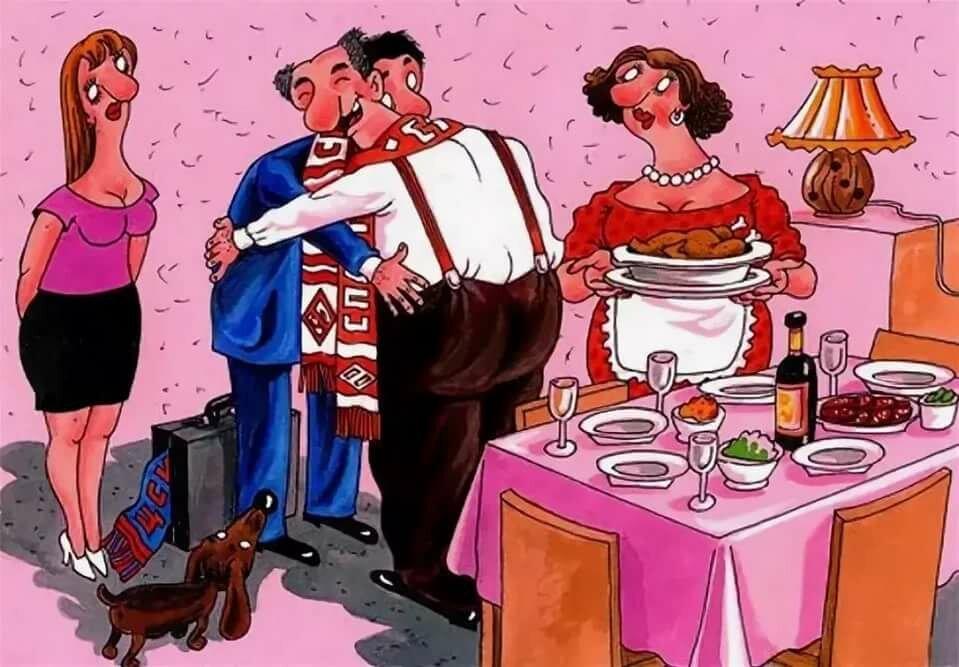 субботу поздравление мужа за столом крути