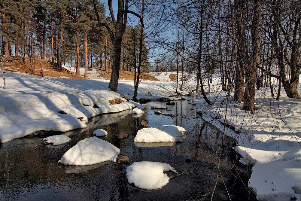 Картинки как тает снег