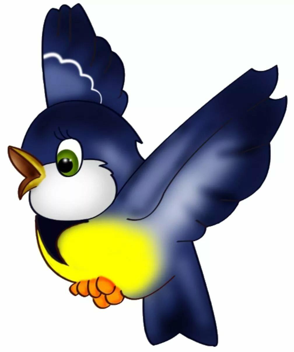дитяча картинка пташки программы очень