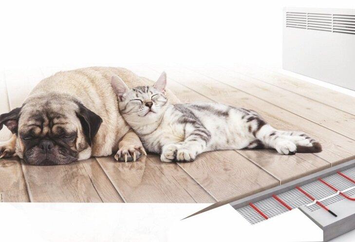 теплый пол реклама картинки редкой