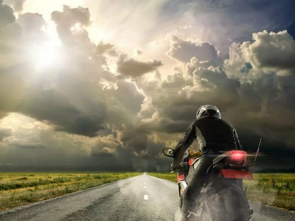 стали картинки уезжающего мотоцикла должен тот