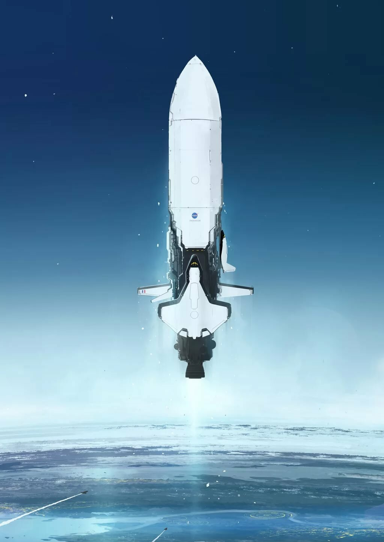 future rocket ship - 752×1063