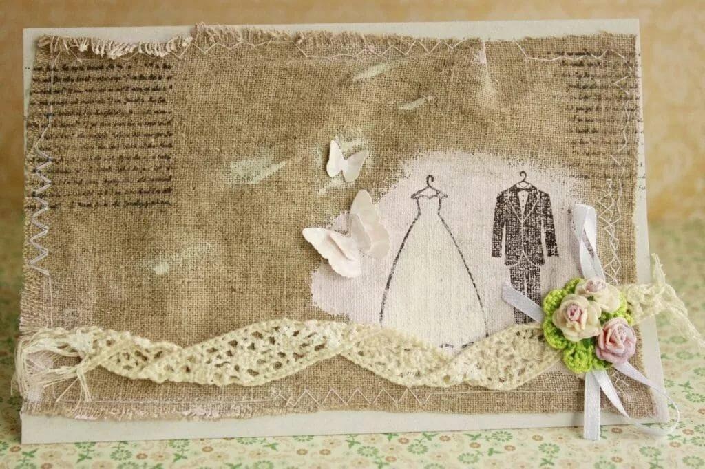 Открытка на 4 лет свадьбу