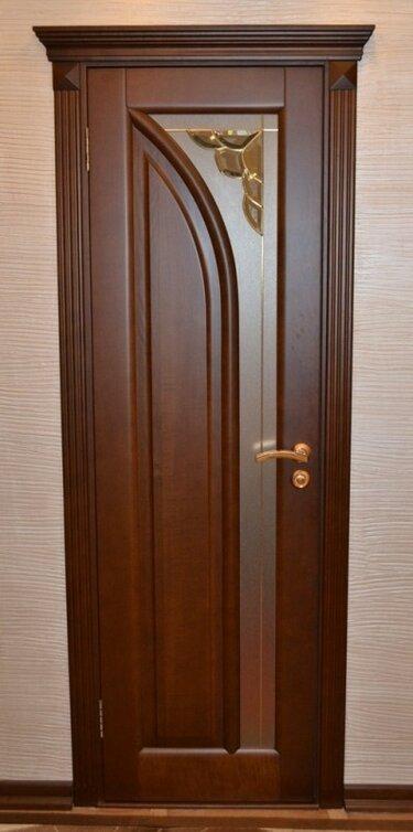 старается межкомнатные двери из массива ясеня фото она