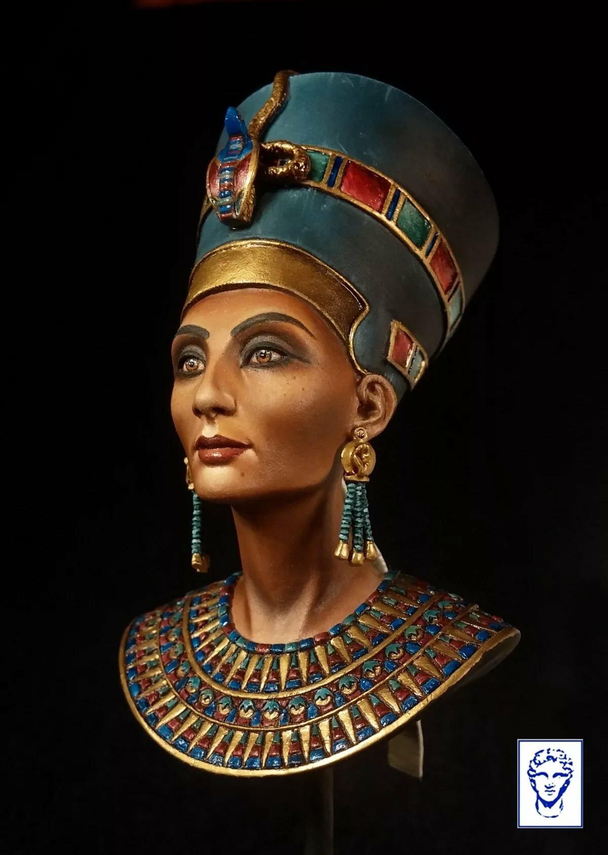 Картинка царица нефертити
