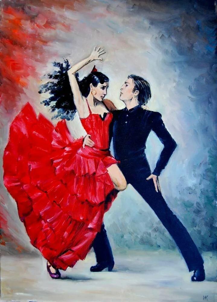 Картинки для декупажа танцующие пары