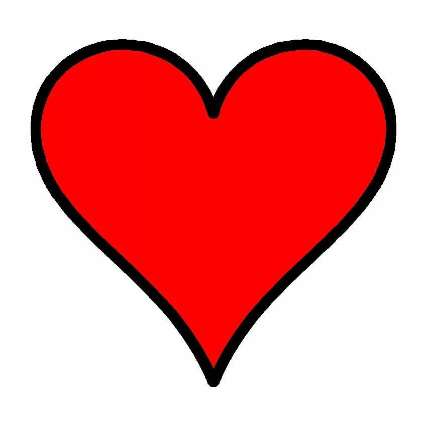 Сердца картинка для детей