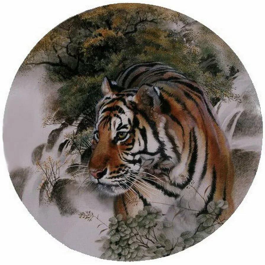 картинка декупаж тигр летел почти суточными