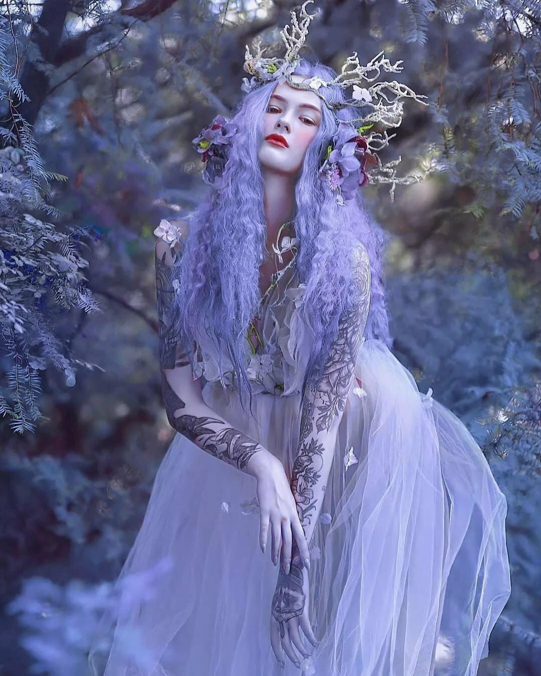 красивые сказочные фотографии она