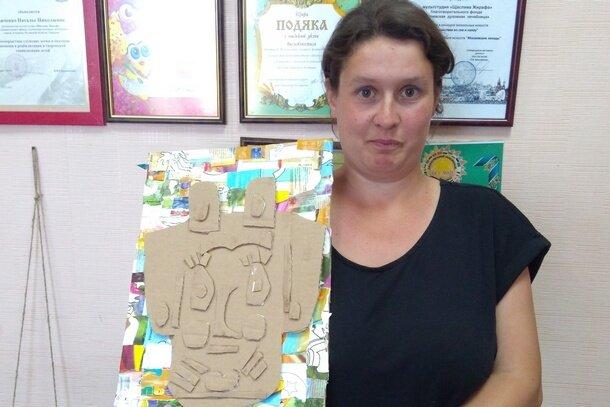 Мультстудийный картонаж в Алчевской духовной лечебнице