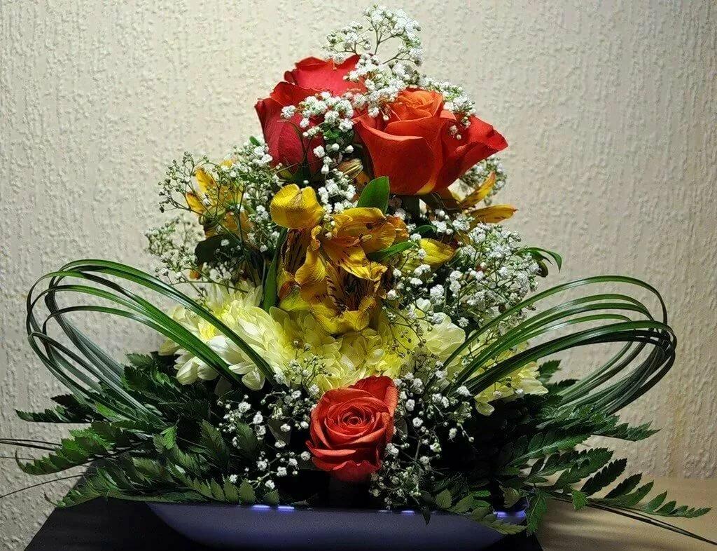 картинки фото цветочных композиций шарм