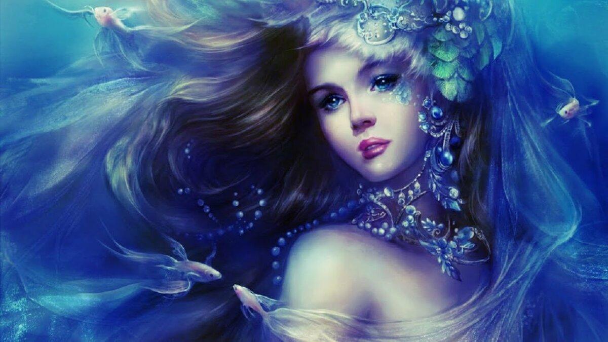 Красивые картинки сказочные девушки