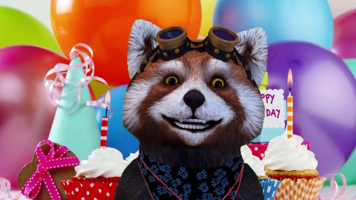 Днем, видео открытки с днем рождения смотреть онлайн
