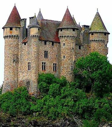 французские средневековые замки