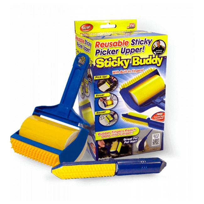 Sticky Buddy - Набор профессиональных силиконовых валиков для уборки в Новомосковске