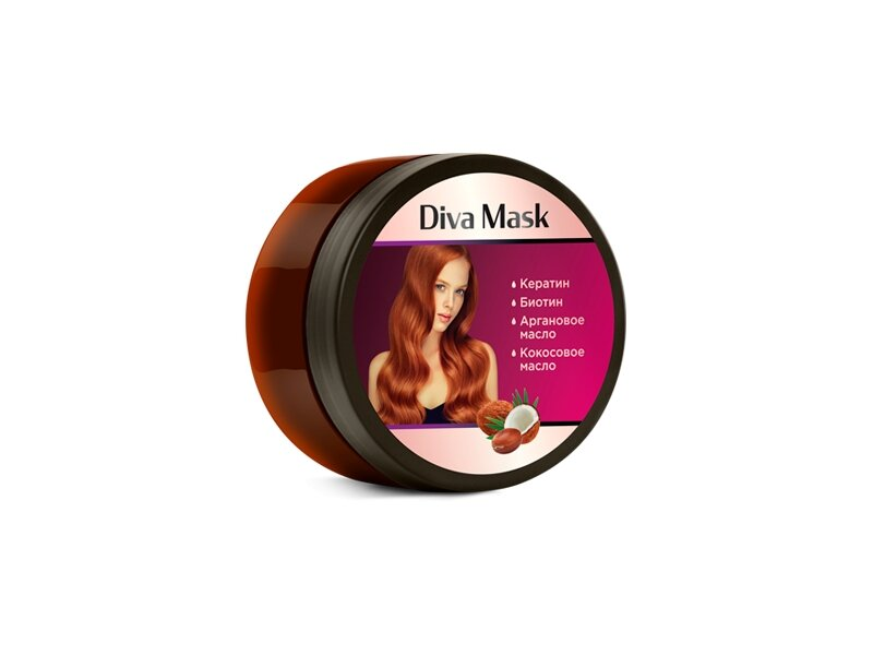 Diva Mask для укрепления и здоровья волос в Кызылорде