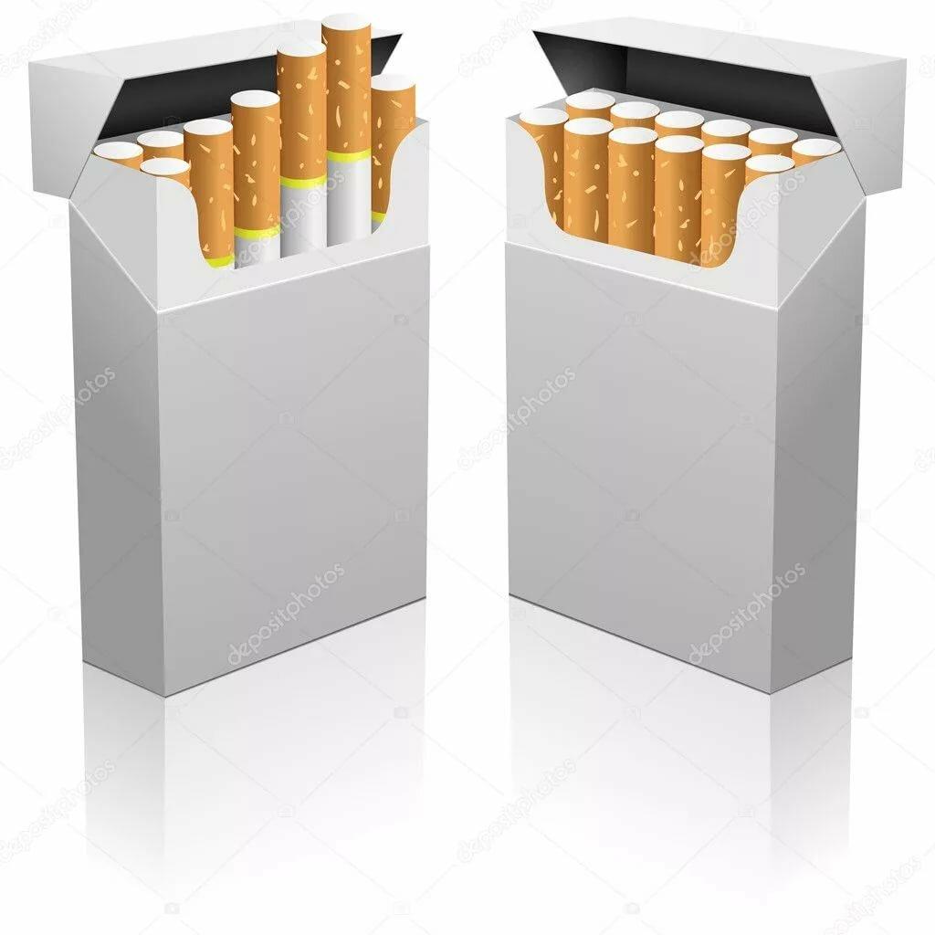пачки сигарет без картинок подходящее