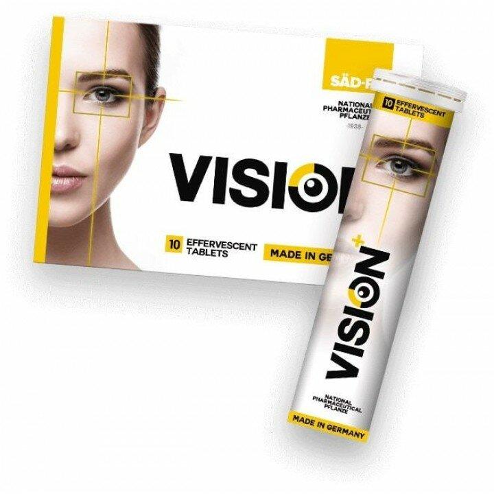 Шипучие таблетки для зрения Vision в Назрани