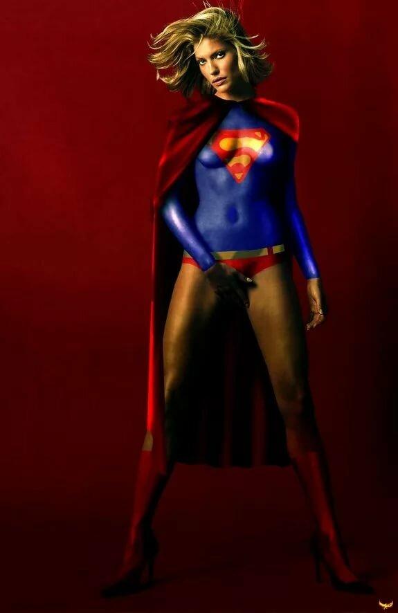 Female superhero nudity