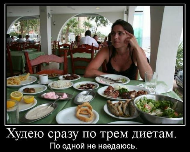 Прикол картинки про диету