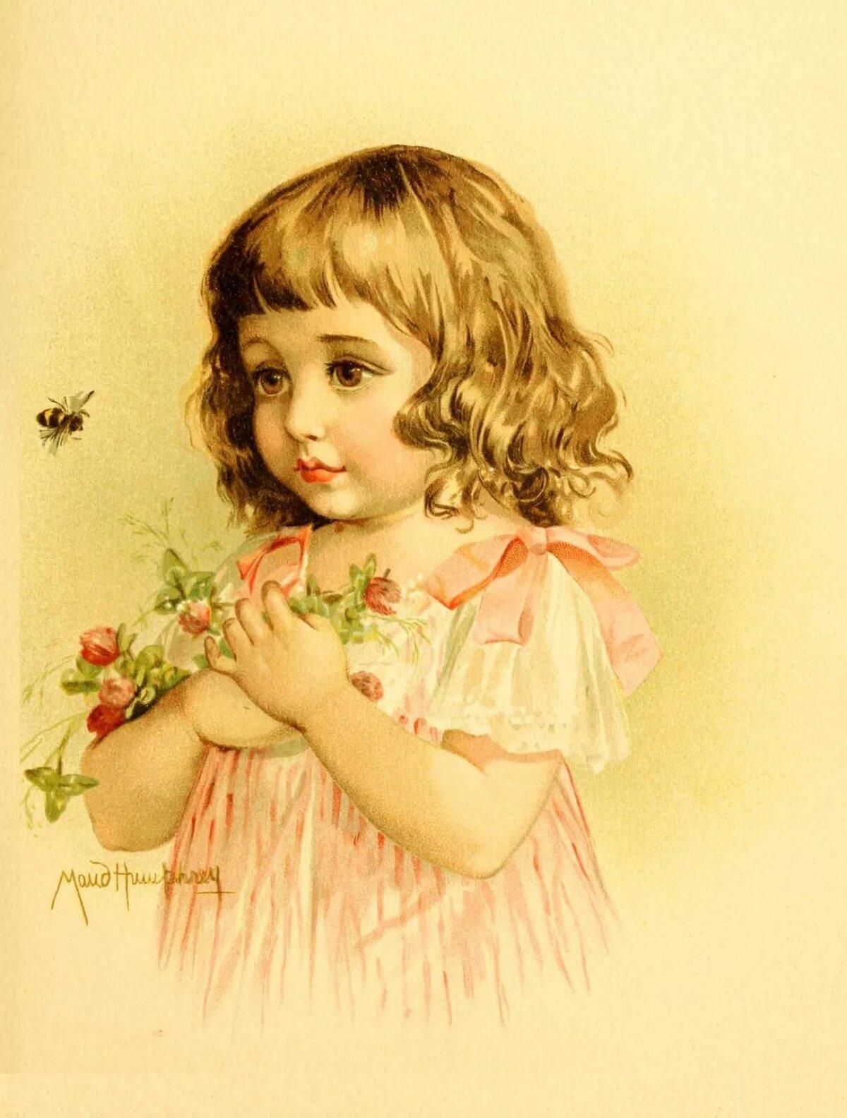 Картинки для декупажа дети ретро винтаж, открытки плейкасты днем