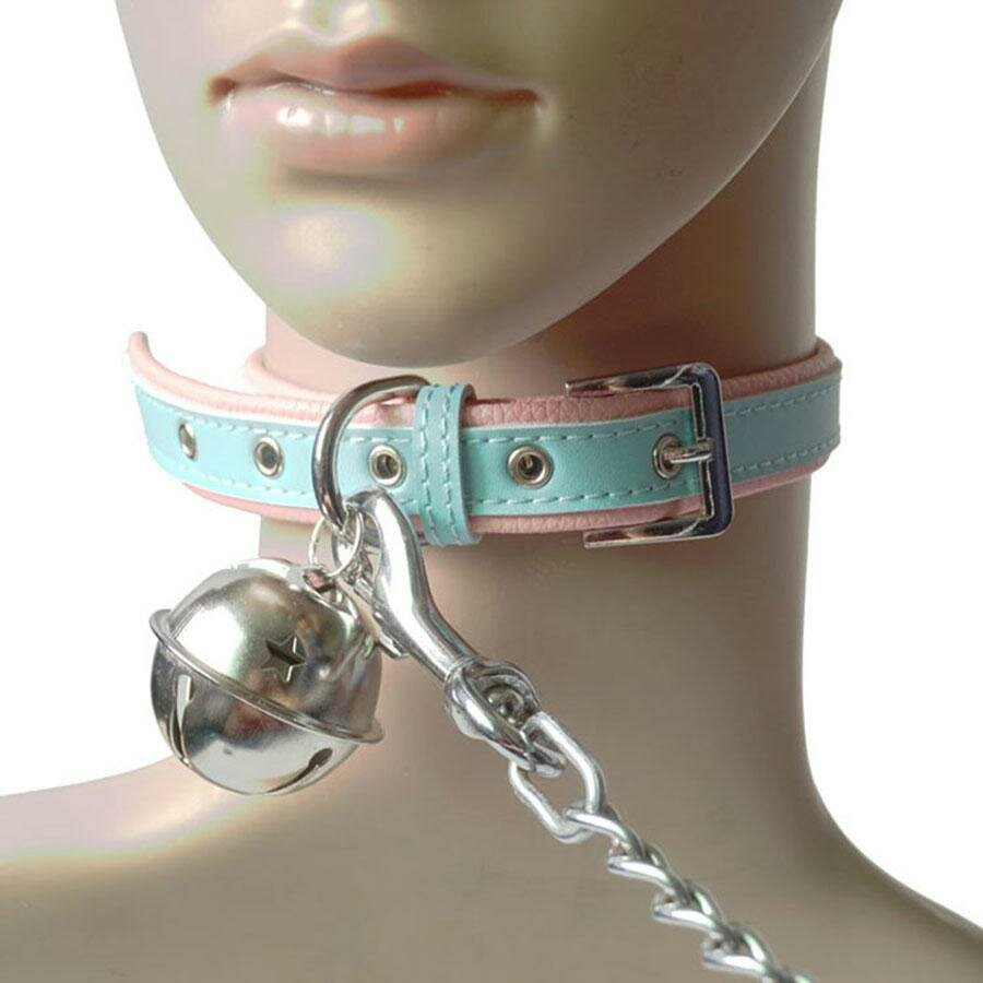 Sexy collars for women chains handcuffs