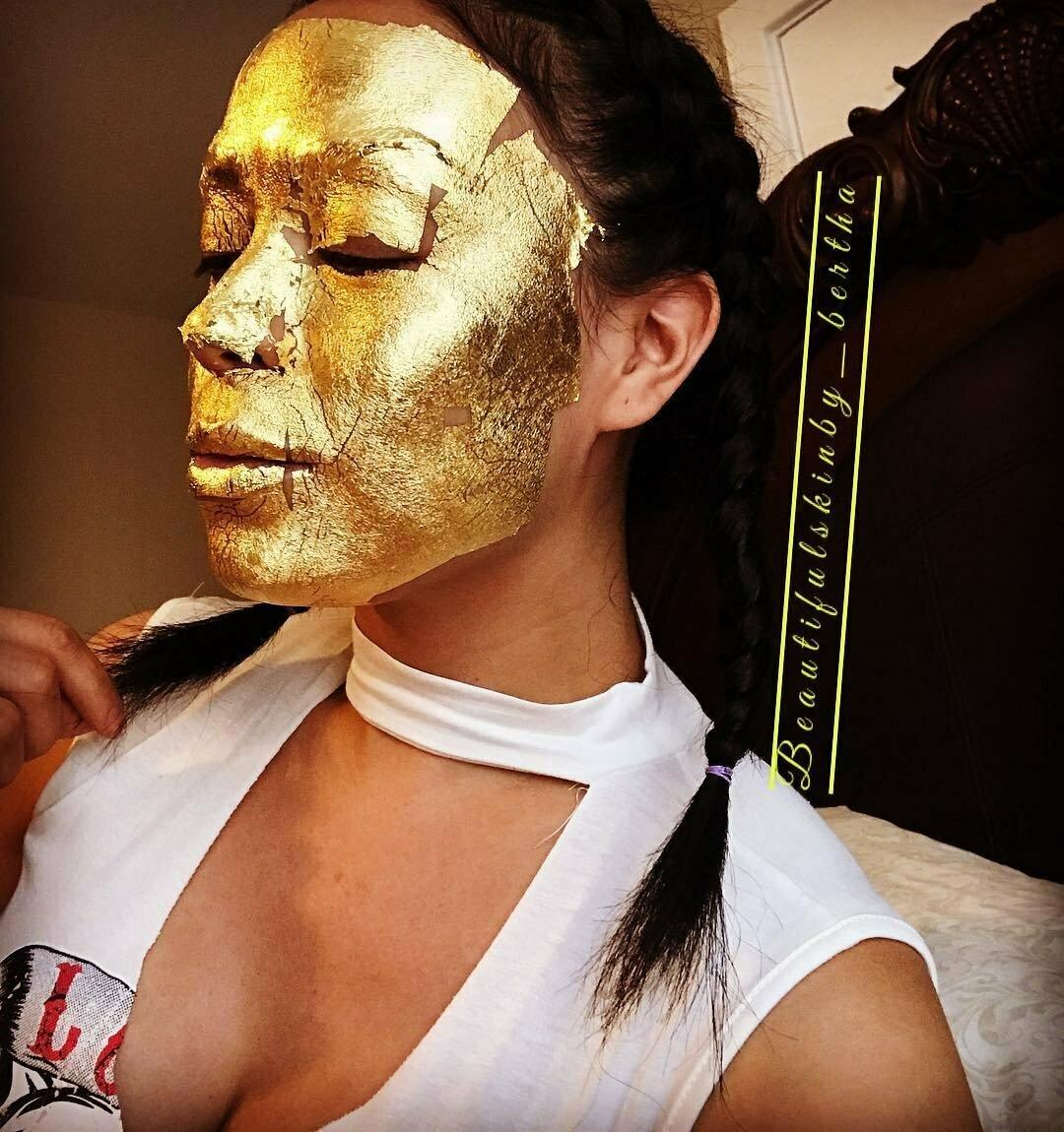 Kaprielle - омолаживающая маска из сусального золота в Сарыагаше