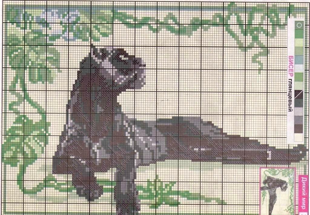 Вышивание крестиком большие картинки со схемами
