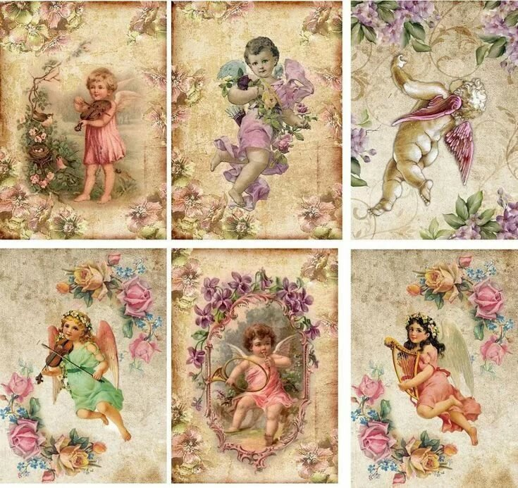 Ангелочки для скрапбукинга картинки