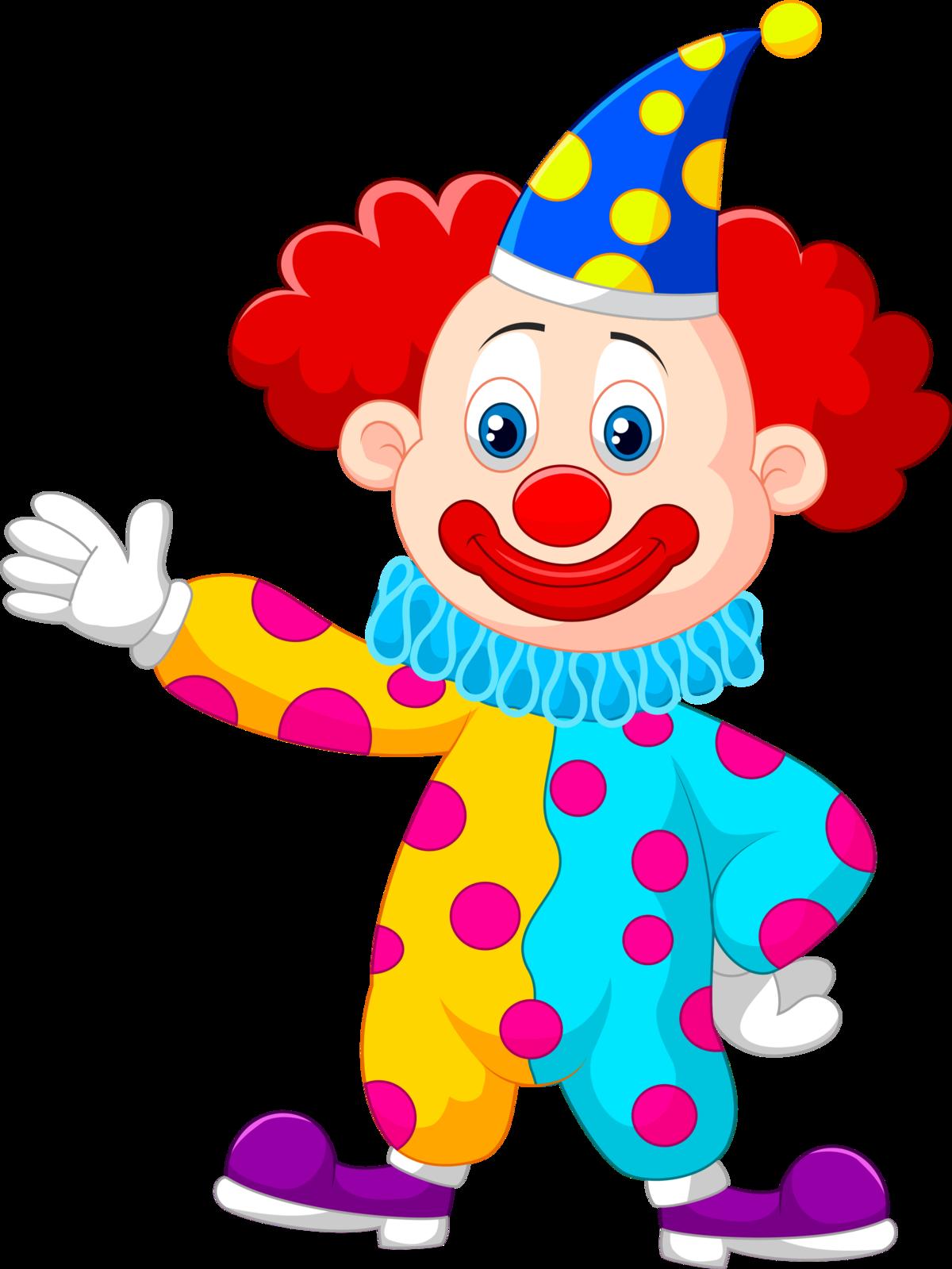 Картинка толстого клоуна