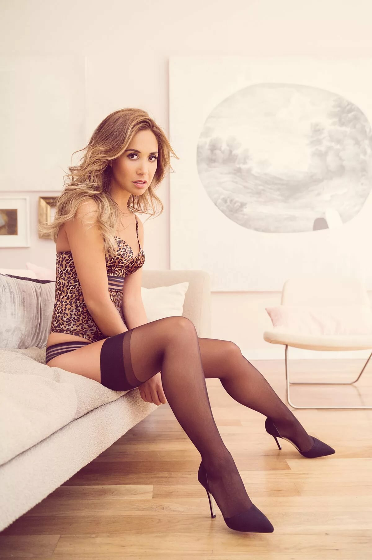 Myleene klass sexy stockings