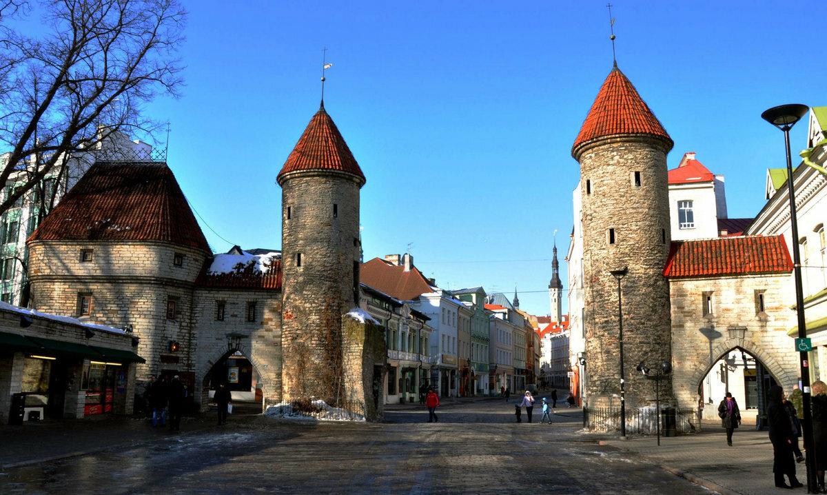 Эстония в открытках изучите
