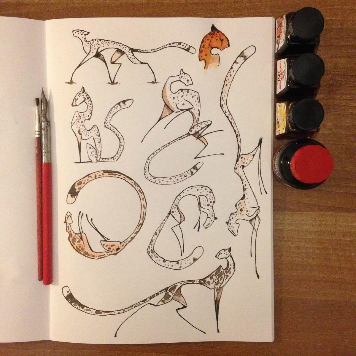 Прикольные рисунки на обложку скетчбука