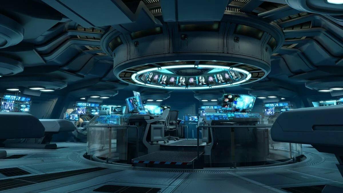 научной внутри инопланетного корабля картинки конструктивное
