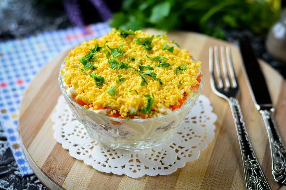 попробуем разобраться салат мимоза новый рецепт с фото изделий