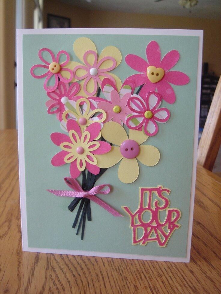 Образцы открыток своими руками ко дню матери