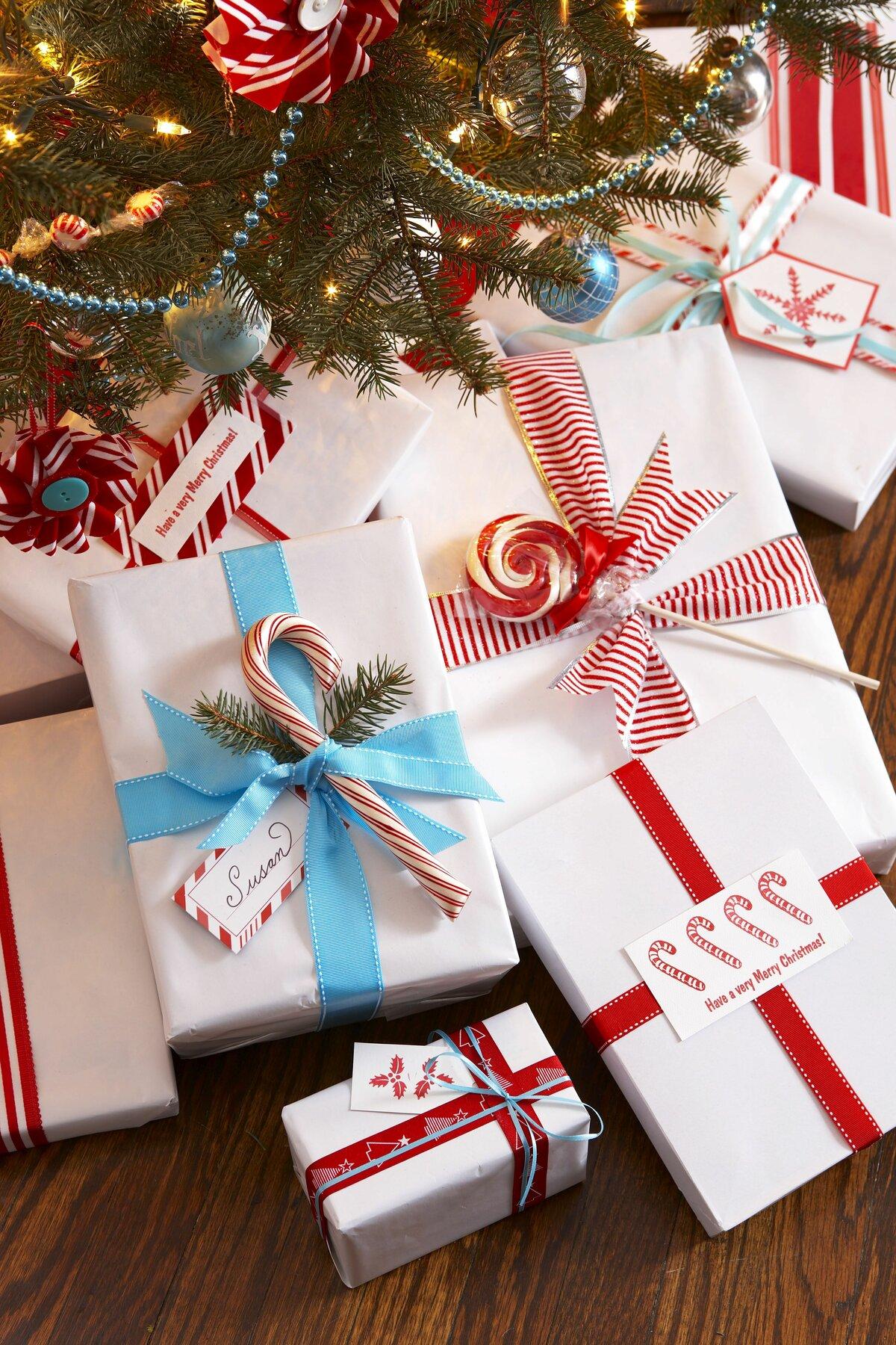 Упаковка к новому году картинки