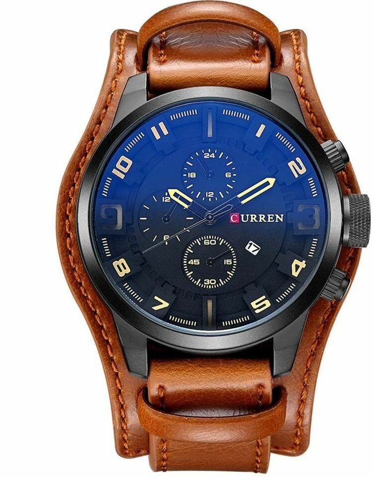 Элитные мужские часы Curren 8225 в Кемерово