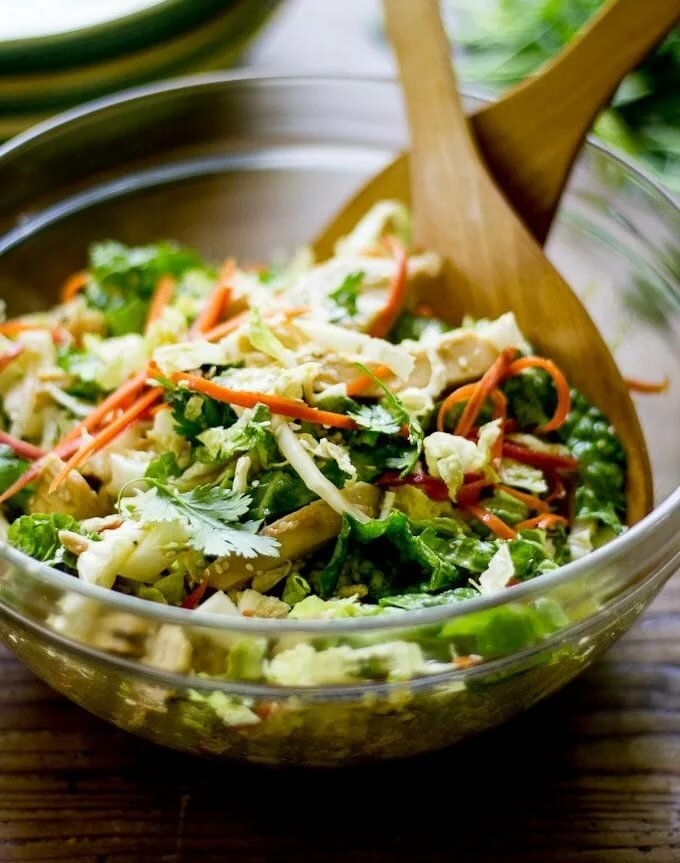 Салат с пекинской капустой с картинками