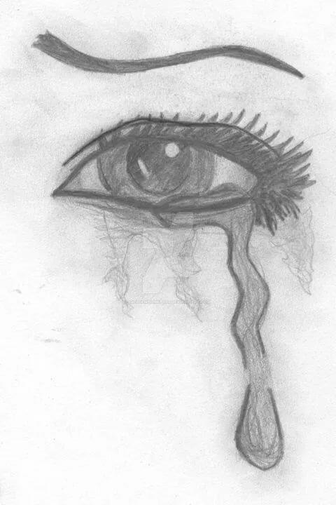 мере нарисовать поэтапно грустные картинки все более совершенные
