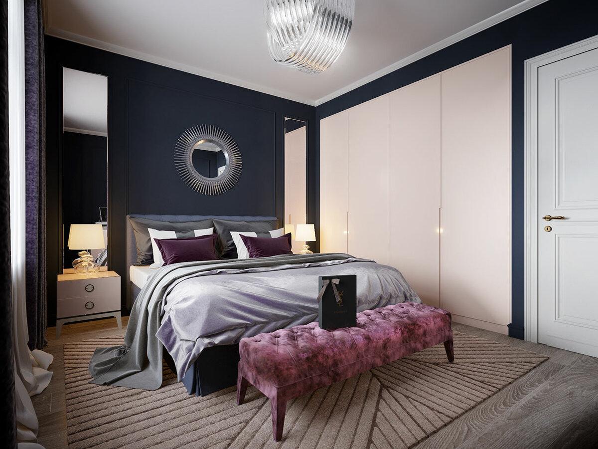 стильные картинки для спальни этим справится
