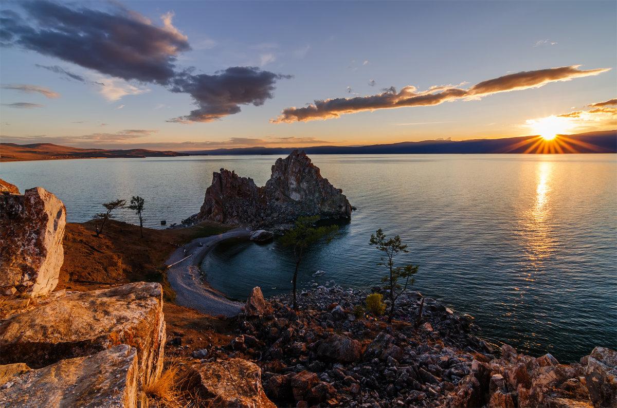 Картинки байкала озеро, утро