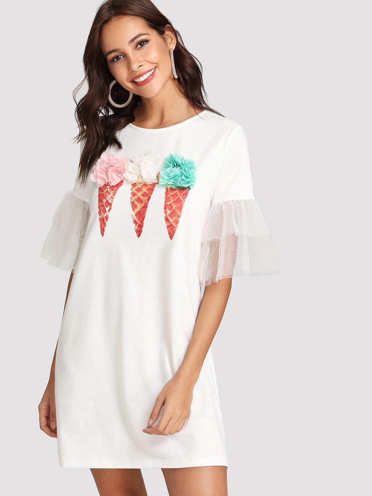 платье с мороженым фото джексон даже