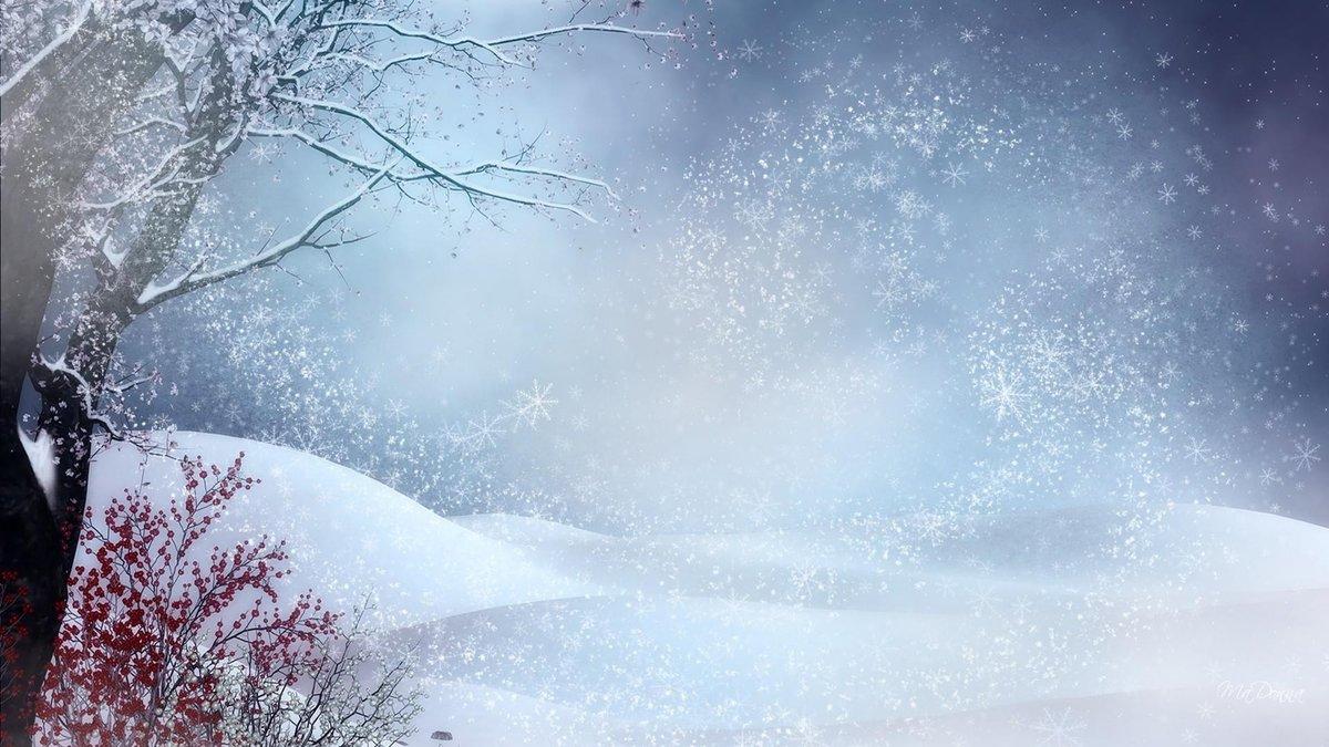 красивые картинки для фона зимние моделях