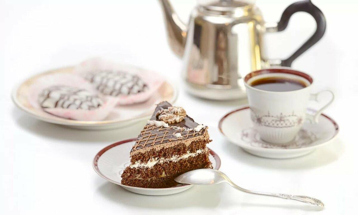 Картинки с кофем и пирожными красивые