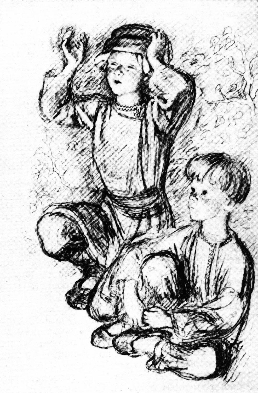 Картинки к рассказу бежин луг тургенев