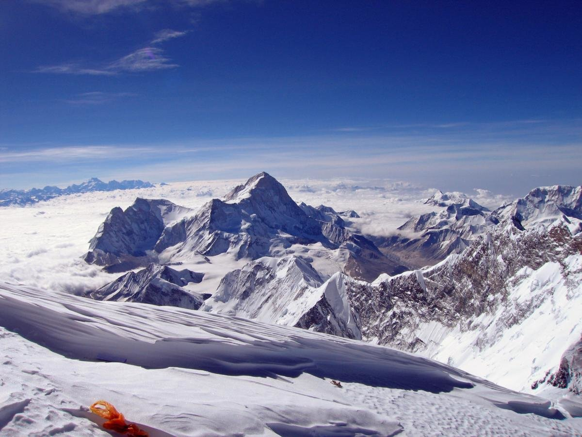 views from mount everest - HD1200×900