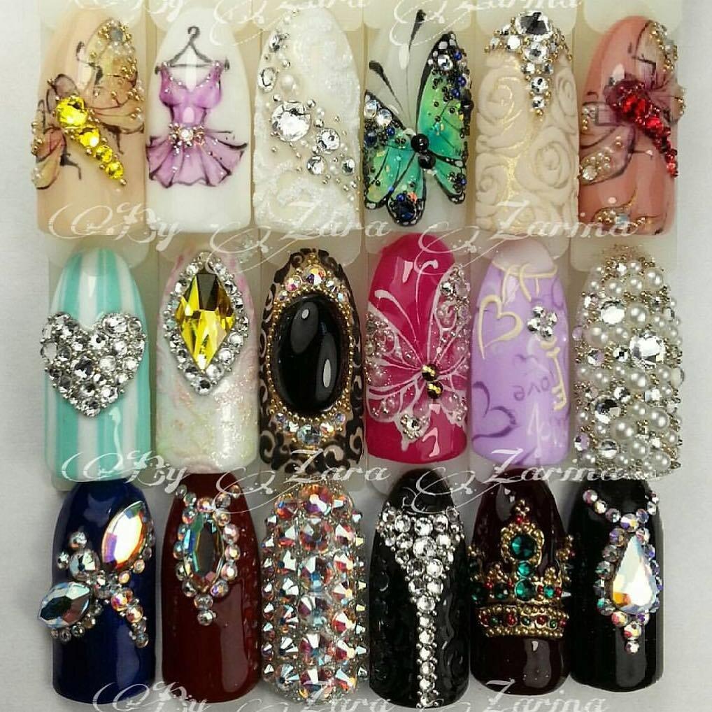 камни в картинках дизайн ногтей специалист области
