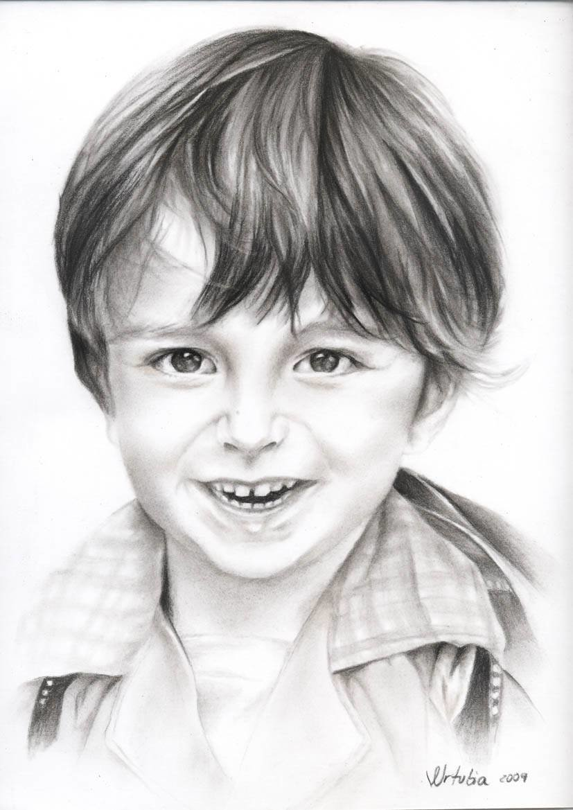 Фото мальчика картинка нарисованная